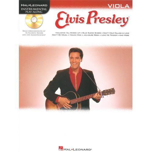 HAL LEONARD INSTRUMENTAL PLAY ALONG - ELVIS PRESLEY + CD - VIOLA