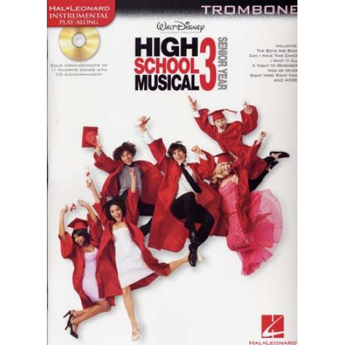 HAL LEONARD INSTRUMENTAL PLAY ALONG HIGH SCHOOL MUSICAL 3 TROMBONE + CD