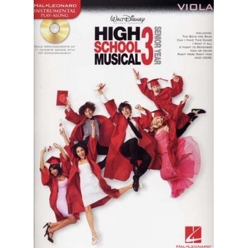 HAL LEONARD INSTRUMENTAL PLAY ALONG HIGH SCHOOL MUSICAL 3 VIOLA + CD