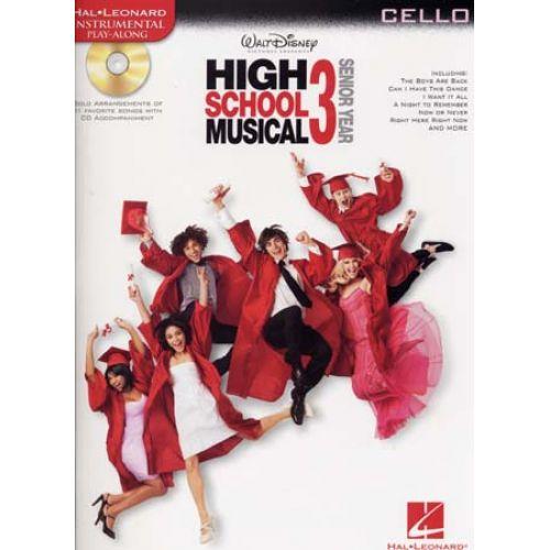 HAL LEONARD INSTRUMENTAL PLAY ALONG HIGH SCHOOL MUSICAL 3 CELLO + CD