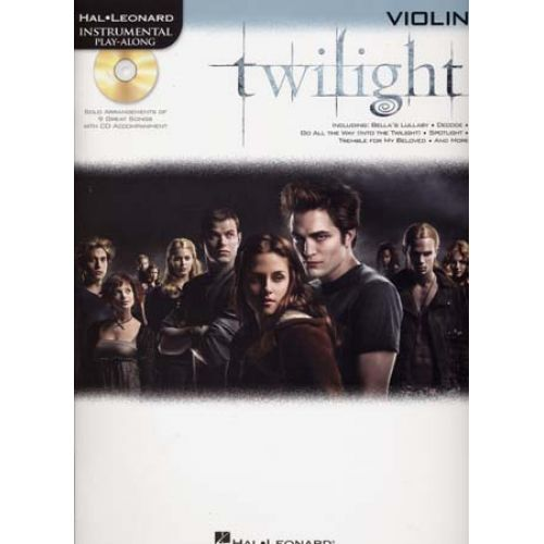 HAL LEONARD INSTRUMENTAL PLAY ALONG TWILIGHT VIOLIN + CD