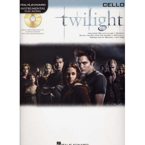 HAL LEONARD INSTRUMENTAL PLAY ALONG TWILIGHT CELLO + CD
