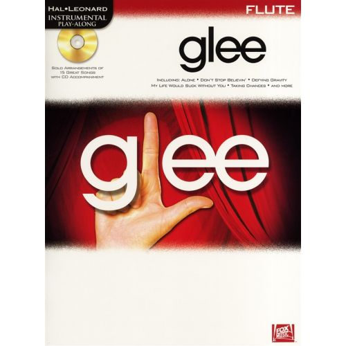 HAL LEONARD INSTRUMENTAL PLAY-ALONG GLEE + CD - FLUTE