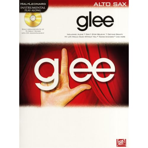 HAL LEONARD INSTRUMENTAL PLAY-ALONG GLEE + CD - ALTO SAXOPHONE