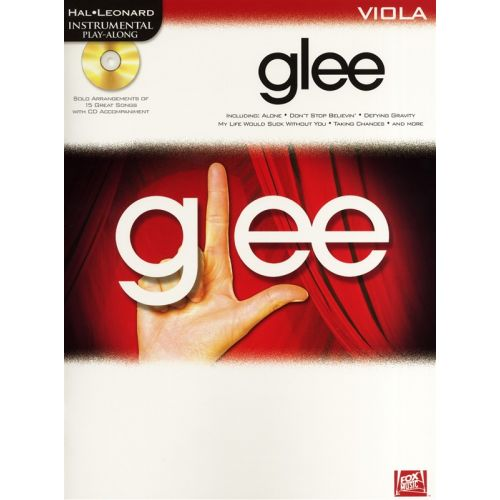 HAL LEONARD INSTRUMENTAL PLAY-ALONG GLEE + CD - VIOLA