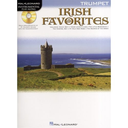HAL LEONARD INSTRUMENTAL PLAY-ALONG IRISH FAVORITES - TRUMPET