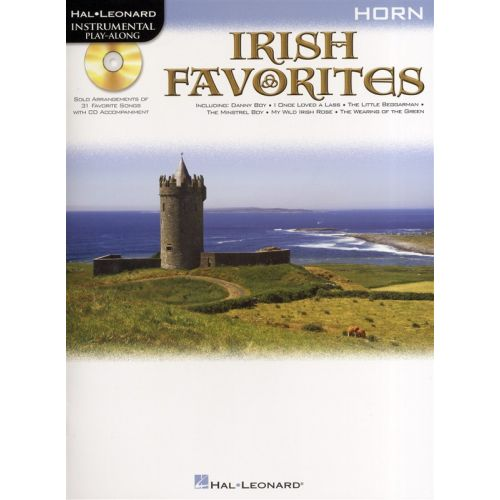 HAL LEONARD INSTRUMENTAL PLAY-ALONG IRISH FAVORITES + CD - HORN
