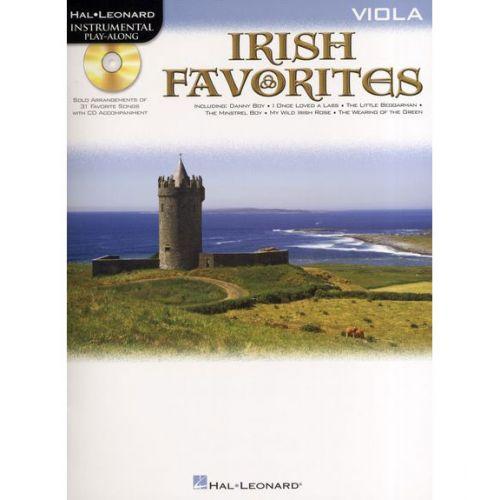 HAL LEONARD INSTRUMENTAL PLAY-ALONG IRISH FAVORITES + CD - VIOLA