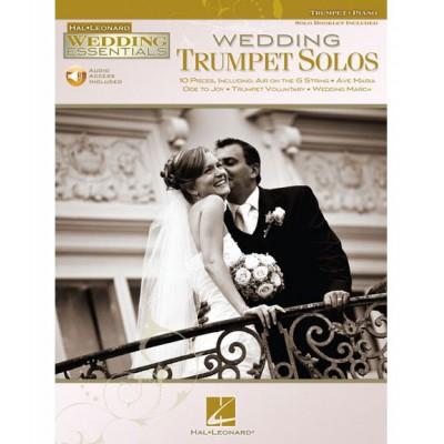 HAL LEONARD WEDDING TRUMPET SOLOS - TRUMPET