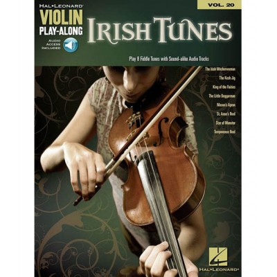 HAL LEONARD VIOLIN PLAY ALONG VOLUME 20 IRISH TUNES + MP3 - VIOLIN