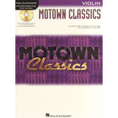 HAL LEONARD INSTRUMENTAL PLAY ALONG - MOTOWN CLASSICS VIOLIN + CD - VIOLIN