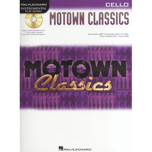 HAL LEONARD INSTRUMENTAL PLAY ALONG - MOTOWN CLASSICS + CD - CELLO