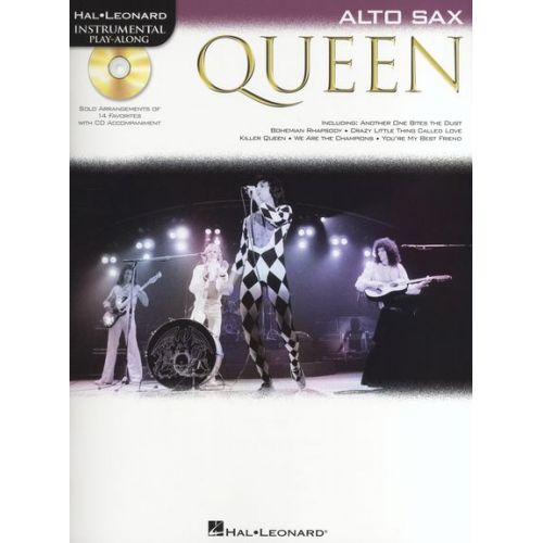 HAL LEONARD ALTO SAXOPHONE PLAY-ALONG : QUEEN + CD