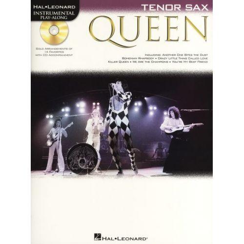 HAL LEONARD TENOR SAXOPHONE PLAY-ALONG : QUEEN + CD