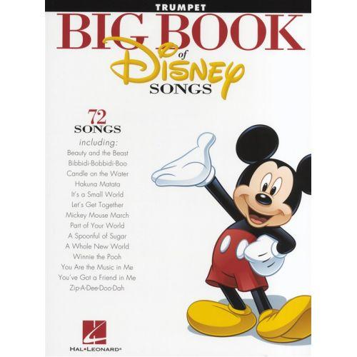 HAL LEONARD THE BIG BOOK OF DISNEY SONGS INSTRUMENTAL FOLIO - TRUMPET