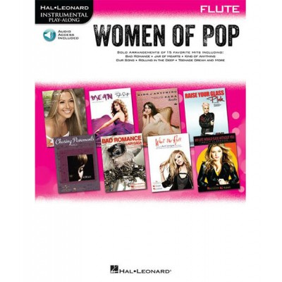 HAL LEONARD INSTRUMENTAL PLAY-ALONG WOMEN OF POP + MP3 - FLUTE