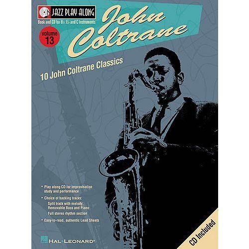 HAL LEONARD JAZZ PLAY-ALONG VOL.13 - JOHN COLTRANE + CD