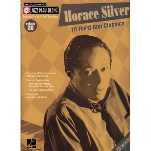 HAL LEONARD SILVER HORACE - JAZZ PLAY ALONG VOL.36 + CD - Bb, Eb, C INSTRUMENTS