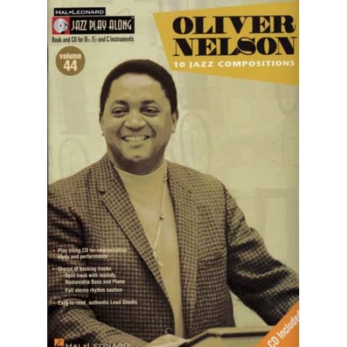 HAL LEONARD NELSON OLIVER - JAZZ PLAY ALONG VOL.44 + CD - Bb, Eb, C INSTRUMENTS