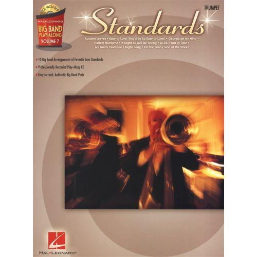 HAL LEONARD BIG BAND PLAY ALONG VOLUME 7 STANDARDS - TRUMPET