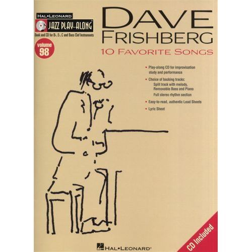 HAL LEONARD DAVE FRISHBERG - JAZZ PLAY-ALONG VOLUME 98 - ALL INSTRUMENTS