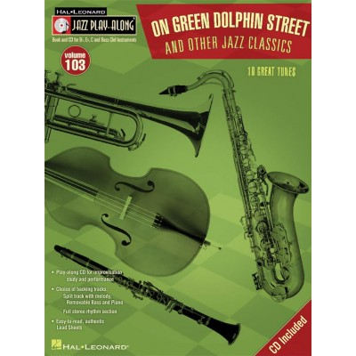 HAL LEONARD JAZZ PLAY ALONG VOL.103 - ON GREEN DOLPHIN STREET