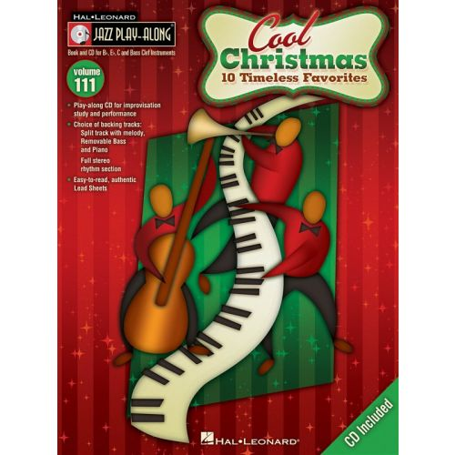 HAL LEONARD COOL CHRISTMAS - 10 TIMELESS FAVORITES+ CD - ALL INSTRUMENTS