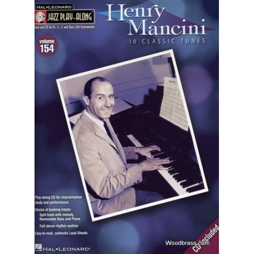 HAL LEONARD JAZZ PLAY ALONG VOL.154 HENRY MANCINI Bb, Eb, C INST. + CD