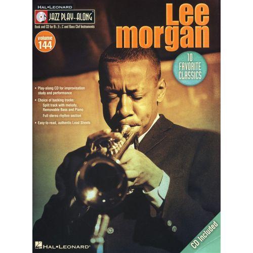 HAL LEONARD JAZZ PLAY ALONG VOLUME 144 MORGAN LEE ALL INSTRUMENTS + CD - BASS CLEF INSTRUMENTS