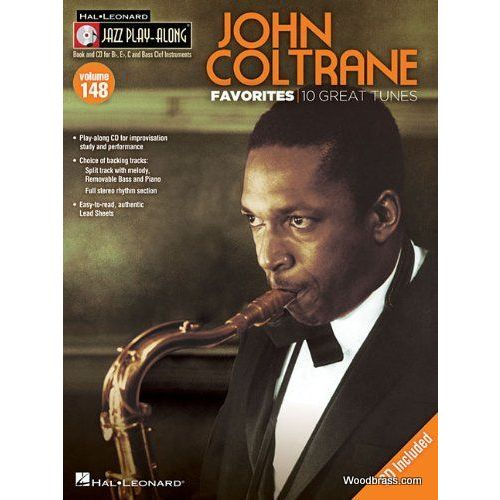 HAL LEONARD JAZZ PLAY ALONG VOL.148 JOHN COLTRANE FAVORITES - BB, EB, C INST. CD