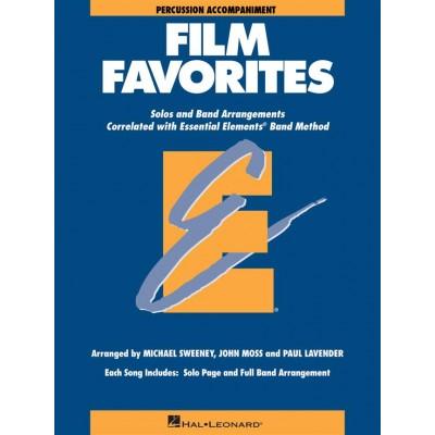 HAL LEONARD ESSENTIAL ELEMENTS - FILM FAVORITES - PERCUSSION