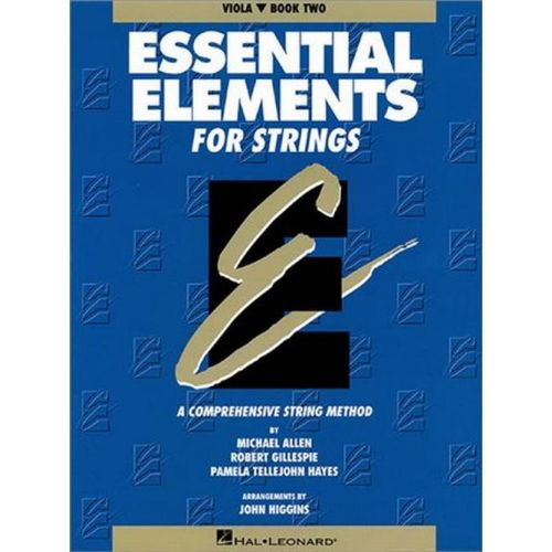 HAL LEONARD ESSENTIAL ELEMENTS FOR STRINGS BOOK 2 - VIOLA (ALTO)