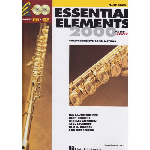 HAL LEONARD ESSENTIAL ELEMENTS 2000 LIVRE 1 - FLUTE