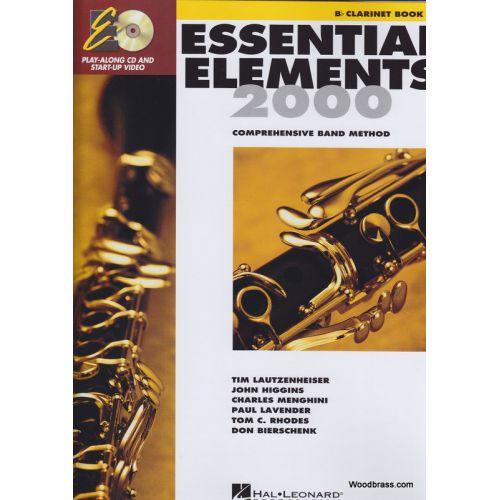 HAL LEONARD ESSENTIAL ELEMENTS 2000 LIVRE 1 - CLARINETTE