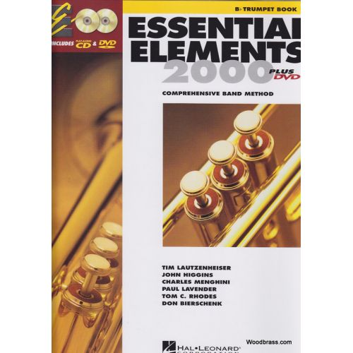 HAL LEONARD ESSENTIAL ELEMENTS 2000 LIVRE 1 - TROMPETTE