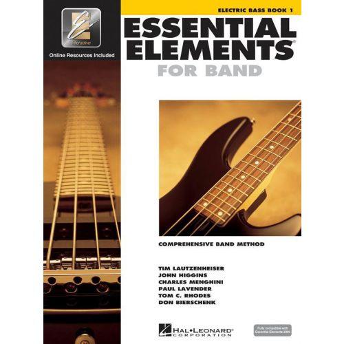 HAL LEONARD ESSENTIAL ELEMENTS 2000 BOOK 1 - E-BASS