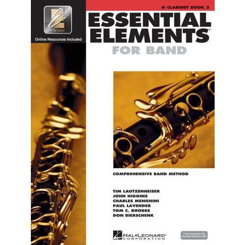 HAL LEONARD ESSENTIAL ELEMENTS 2000 BOOK 2 - CLARINETTE