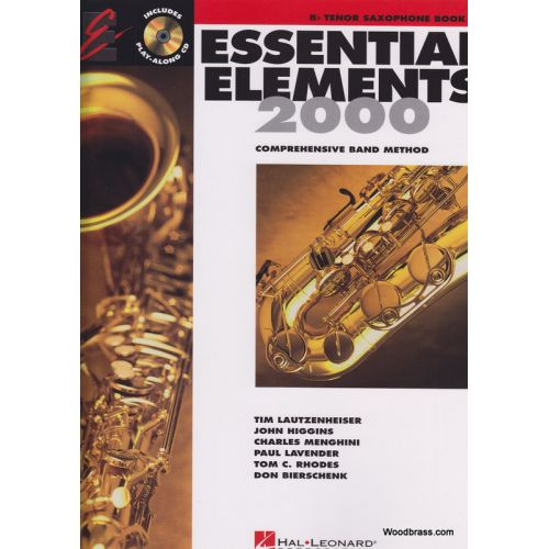 HAL LEONARD ESSENTIAL ELEMENTS 2000 LIVRE 2 - SAXOPHONE BB