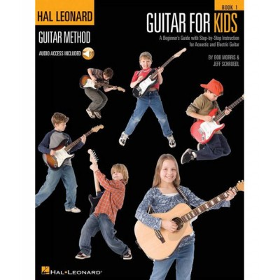HAL LEONARD HAL LEONARD GUITAR METHOD GUITAR FOR KIDS + MP3 - GUITAR