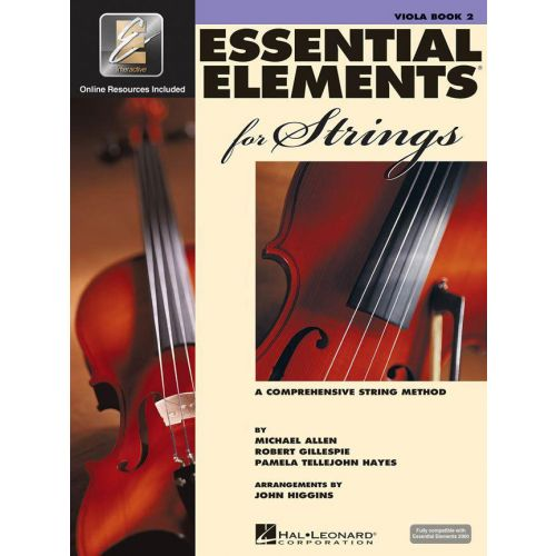 HAL LEONARD ESSENTIAL ELEMENTS 2000 FOR STRINGS BOOK 2 - VIOLA (ALTO)