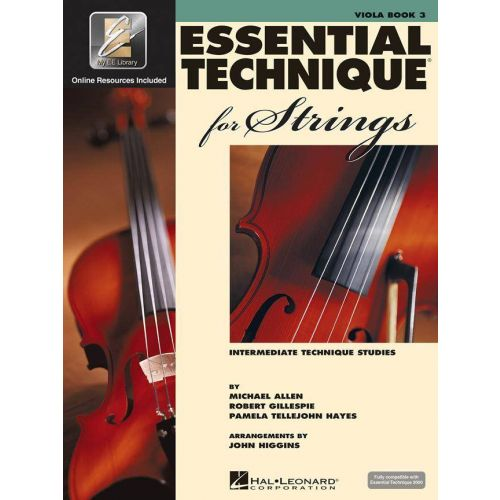 HAL LEONARD ESSENTIAL TECHNIQUE 2000 FOR STRINGS - VIOLA (ALTO)