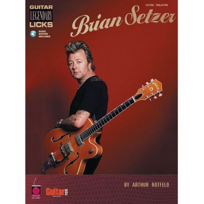 HAL LEONARD SETZER BRIAN - GUITAR LEGENDARY LICKS + MP3