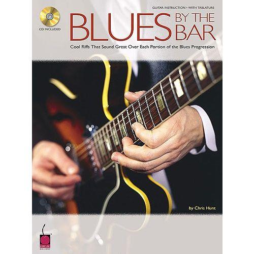 HAL LEONARD CHRIS HUNT BLUES BY THE BAR + CD - GUITAR