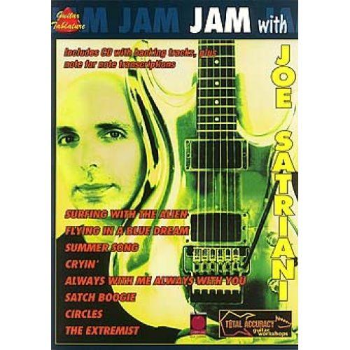 CHERRY LANE JAM WITH JOE SATRIANI + CD - GUITAR TAB