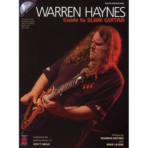 HAL LEONARD WARREN HAYNES GUIDE TO THE SLIDE GUITAR + CD - GUITAR