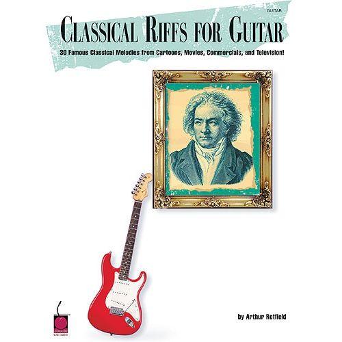 CHERRY LANE CLASSICAL RIFFS FOR GUITAR - GUITAR