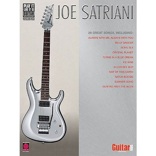CHERRY LANE JOE SATRIANI ANTHOLOGY TAB - GUITAR TAB
