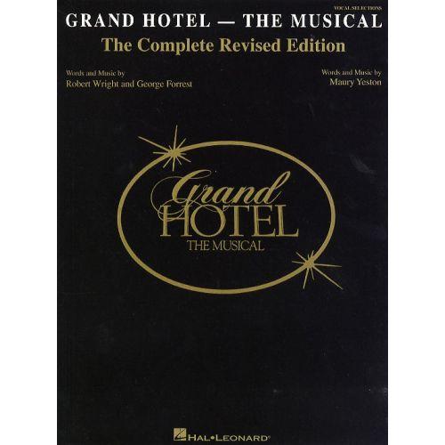 HAL LEONARD GRAND HOTEL THE MUSICAL - PVG