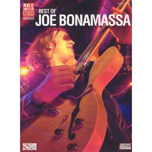 HAL LEONARD BONAMASSA JOE BEST OF GUITAR - GUITAR TAB