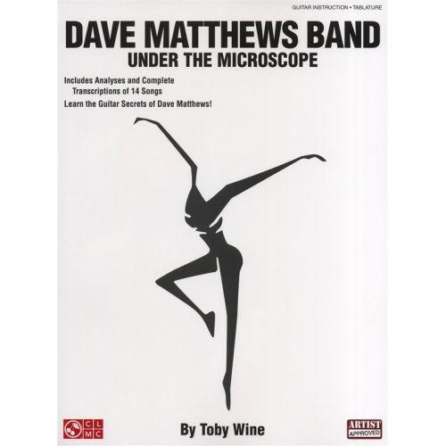 HAL LEONARD DAVE MATTHEWS BAND UNDER THE MICROSCOPE GUITAR - GUITAR TAB
